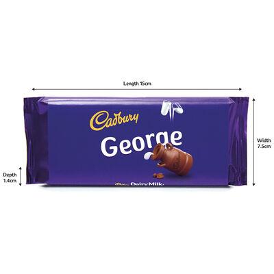 Cadbury Dairy Milk Chocolate Bar 110g - George image number 3