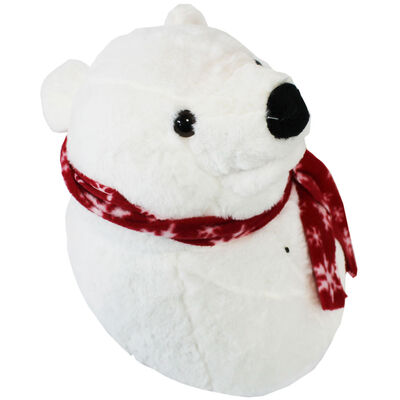 Rockin Polar Bear Singing Wall Ornament image number 2