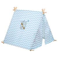 Blue Zigzag Tent