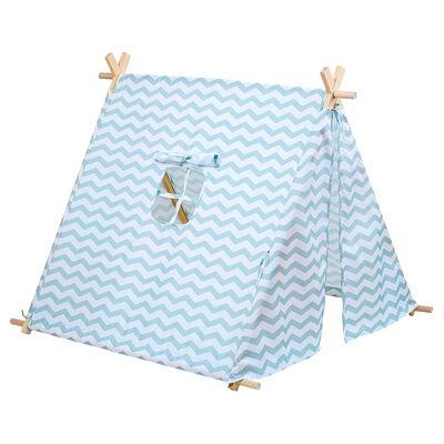 Blue Zigzag Tent image number 1