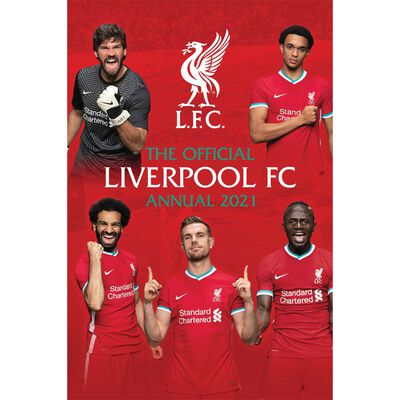 The Official Liverpool FC Annual 2021 image number 1