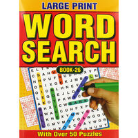 Large Print Wordsearch: Assorted Books 25-28
