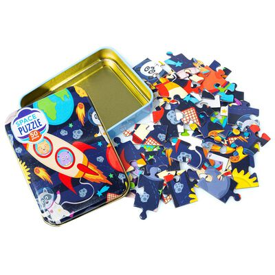 Space Rocket 50 Piece Jigsaw Puzzle image number 2