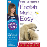 English Made Easy: Ages 8-9