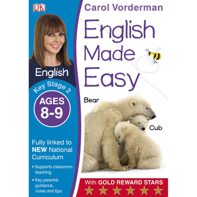 English Made Easy: Ages 8-9 image number 1