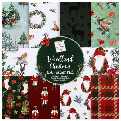 Woodland Christmas Paper Pad image number 1