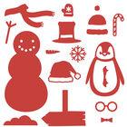 Christmas Characters Build a Scene Metal Die Set image number 2