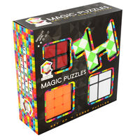 Magic Cubed Puzzles - Set of 4