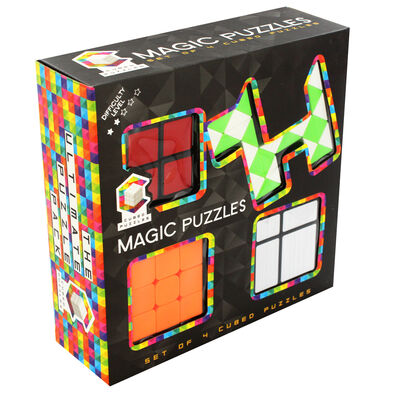 Magic Cubed Puzzles - Set of 4 image number 1