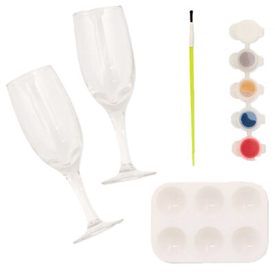 Simply Make - Glass Painting Flute Kit image number 2
