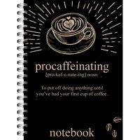 A4 Procaffeinating Notebook