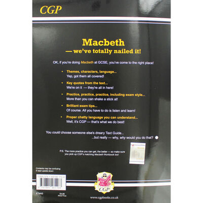 CGP GCSE English Macbeth: The Text Guide image number 3