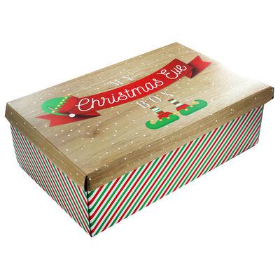 Elf Fold Up Christmas Eve Box image number 1