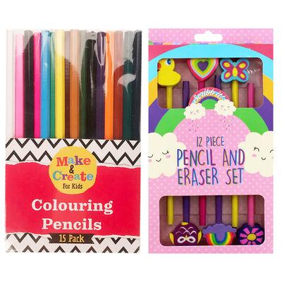 Kids Mega Art Essentials & Caddy Bundle image number 2