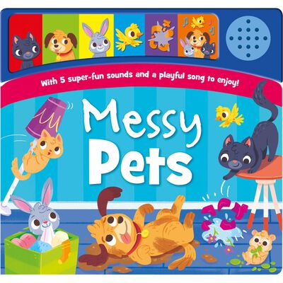 Messy Pets Sound Book image number 1