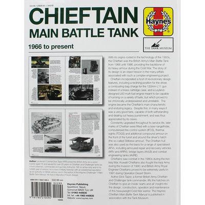 Haynes Chieftan Tank Manual - Owners Workshop Manual image number 3