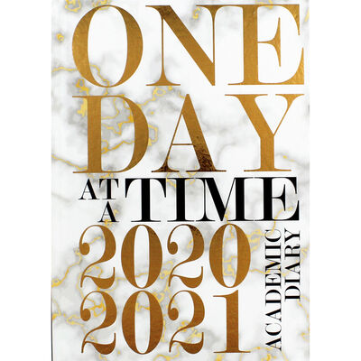 A5 One Day at a Time Day a Page 2020-21 Academic Diary image number 1