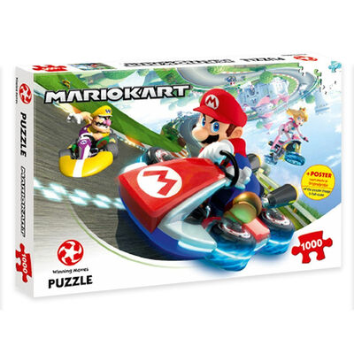 Mario Kart Funracer 1000 Piece Jigsaw Puzzle image number 1