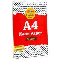 A4 Neon Paper