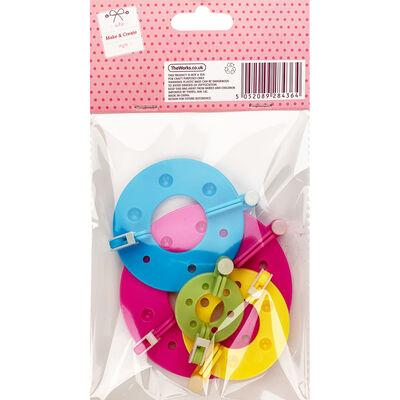 Pom Pom Makers - 4 Pack image number 2
