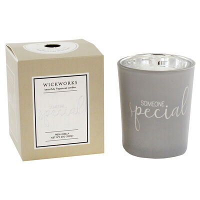 Someone Special Fresh Vanilla Candle image number 2