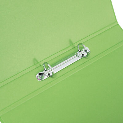 Bright Green A4 Ring Binder File image number 2