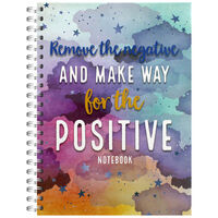 A4 Make Way for the Positive Notebook