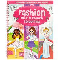 Fashion Mix & Match Colouring