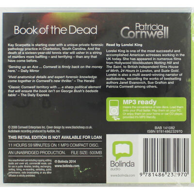 Book of the Dead: MP3 CD image number 2