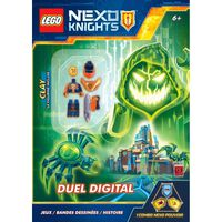 Lego NEXO Knights: Digital Duel with Free Clay Minifigure