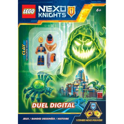 Lego NEXO Knights: Digital Duel with Free Clay Minifigure image number 1