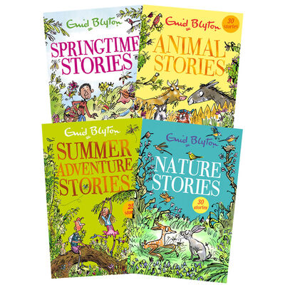 Enid Blyton Stories: 4 Book Collection image number 1