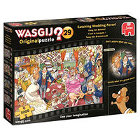 Wasgij Original 29 Catching Wedding Fever 1000 Piece Jigsaw Puzzle