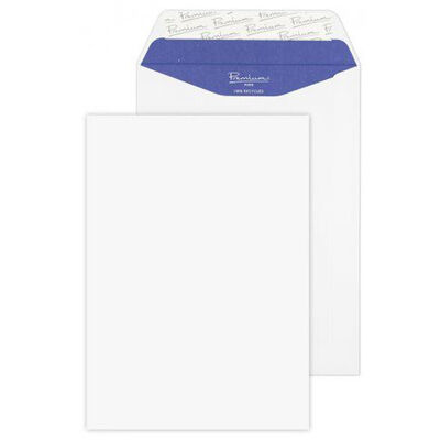 White Wove Envelopes C5 Pack of 50 image number 1
