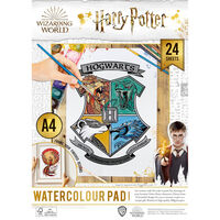 Harry Potter A4 Watercolour Pad