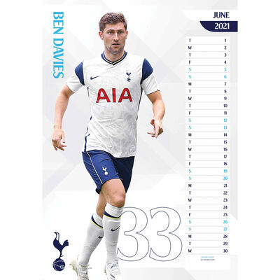 The Official Tottenham Hotspur FC 2021 Calendar image number 2