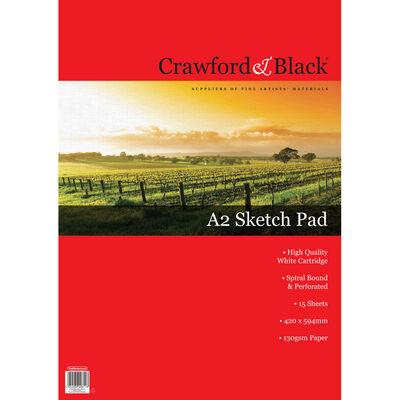 Crawford & Black A2 Sketch Pad image number 1