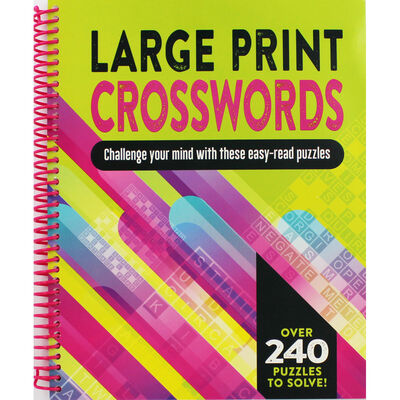 Large Print Crosswords image number 1