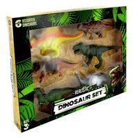 Realistic Dinosaur Set - 6 Dinosaurs