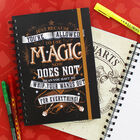 A5 Harry Potter Magic Notebook image number 3