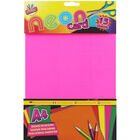 A4 Neon Card - 15 Sheets image number 1