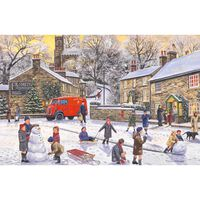 Christmas Holiday 1000 Piece Jigsaw Puzzle