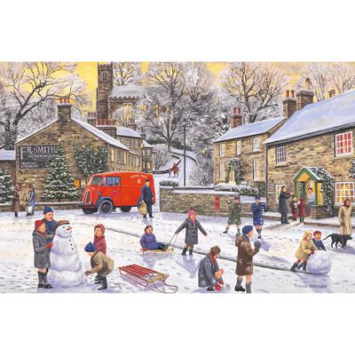 Christmas Holiday 1000 Piece Jigsaw Puzzle image number 2