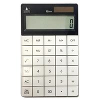 Fashion Calculator - White