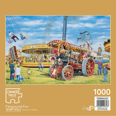 Fairground Fun 1000 Piece Jigsaw Puzzle image number 2