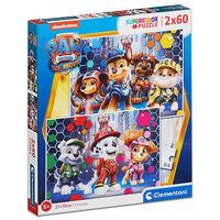 Paw Patrol 2-in-1 60 Piece Jigsaw Puzzle Set