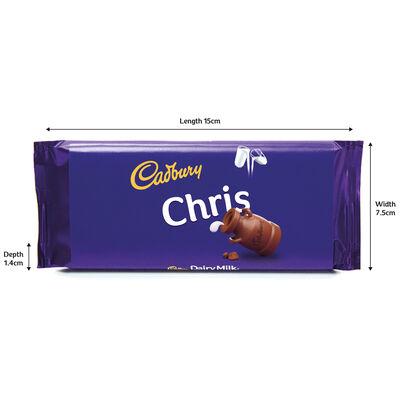 Cadbury Dairy Milk Chocolate Bar 110g - Chris image number 3