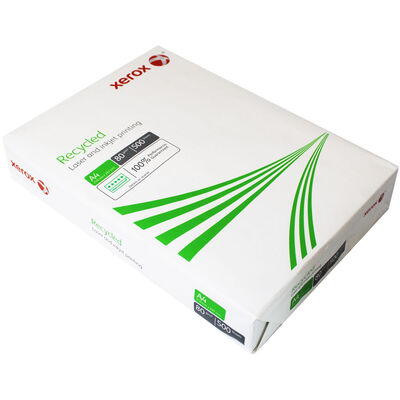 Xerox Recycled A4 80gsm Printer Paper - 500 Sheets image number 2