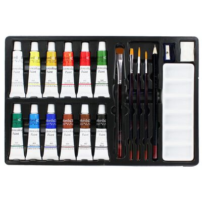 Crawford And Black Watercolour Paint Set - 20 Pieces image number 2