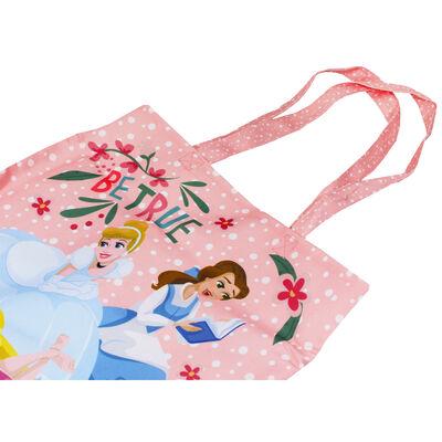 Disney Princess Pink Be True Canvas Tote Bag image number 2